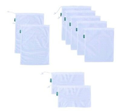 Earthwise Resuable Mesh Produce Bags 9 pack HIGH QUALITY