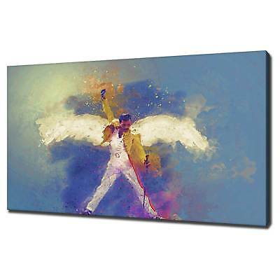 Freddie Mercury Queen Canvas Print Picture Wall Art Free Fast Delivery