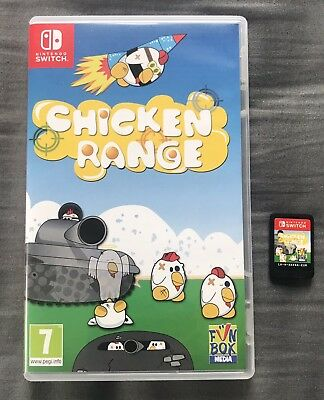 Chicken Range for Nintendo Switch - VGC Game - FAST & FREE DELIVERY
