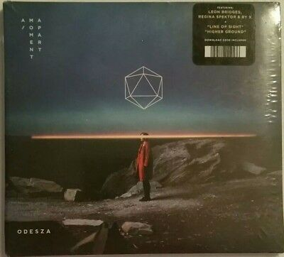 **MUST SEE** BRAND NEW A Moment Apart by ODESZA (CD, Sep-2017, Counter Records)