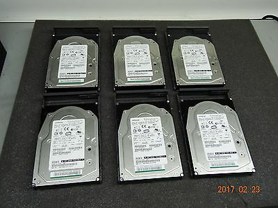 Hitachi Data Systems Internal Hard Drive SAS 146GB 15K 0B20963 (Lot of 6) #1128