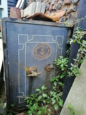Vintage Samuel Withers Safe Barn Find