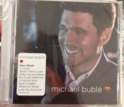 """*MUST SEE* BRAND NEW 2018 Michael Buble """"Love"""" CD Cracked Case still sealed!"""