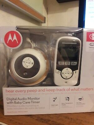 Motorola MBP161TIMER Digital Audio Baby Monitor with Baby Care