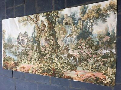 Aubusson tapestry mythological scene French antique children