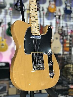 New Fender Player Series Telecaster Maple Butterscotch Blonde FREE HARD CASE!