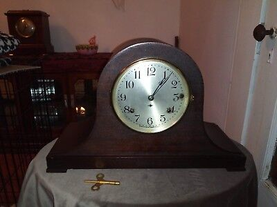Antique Seth Thomas 4 Bell Westminster Rod Chime Sonora Mantle Clock *working*