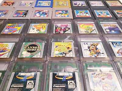 --MASSIVE GAMEBOY CLASSIC AND COLOR GAMES LISTING-- GB GBC Nintendo RARE