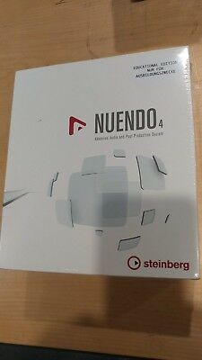 Steinberg Nuendo 4 Advance Audio and Post Production DAW Software EDU Version