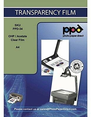 Canon Transparency OHP Acetate Clear Film 10pack A4