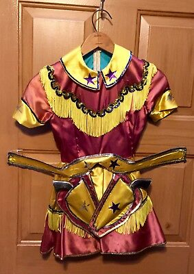 Vintage Cowgirl Western Costume & Accessories Hubley Coyote & Sequin Hat ++