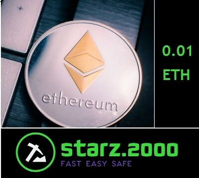0.01 Mining Ethereum-Contract (0.01 EHT/2H -> Directly to your WALLET)
