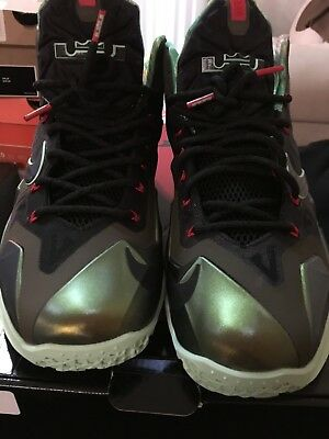 reputable site 5a92c bb942 VNDS Nike Lebron 11 XI King s Pride Sz. 10.5