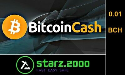 0.01 Mining Bitcoin.Cash -Contract (0.01 BCH /1H -> Directly to your WALLET)