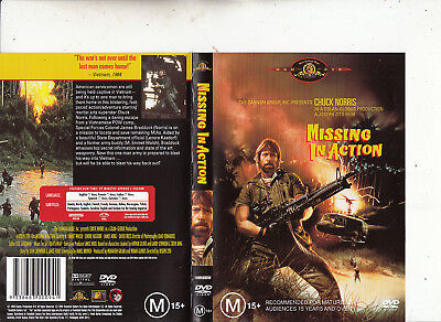 Missing In Action-1984-Chuck Norris-Movie-DVD