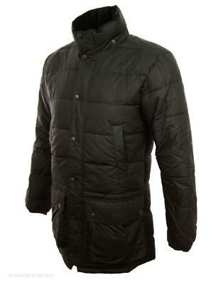 Barbour Jacket sz XL Men's HEMMINGFORD Quilted Waxed Black NWOT $450