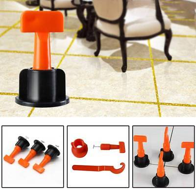 50pcs Flooring Wall Tile Leveling System Leveler Plastic Clip Locator Spacers