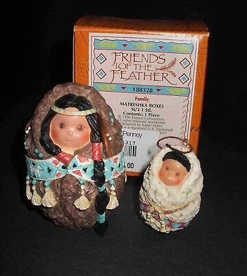"""FRIENDS OF THE FEATHER """"Family Matreshka Boxes"""""""