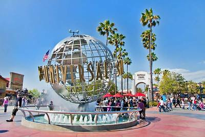 1  Adult Universal Studios Hollywood CA eTicket