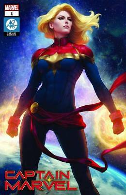 Captain Marvel ARTGERM Collectibles Variant In HAND! #1 NOT PRESALE!