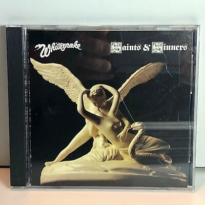 Whitesnake Saints Sinners (1982) David Coverdale Orig Dadc Geffen 924173-2 Cd