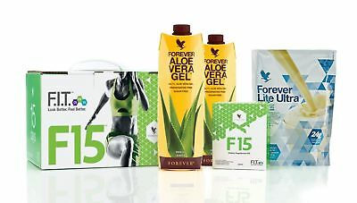 Forever F15 FIT Nutrition Weight Management Program,Vanilla or Chocolate- KOSHER