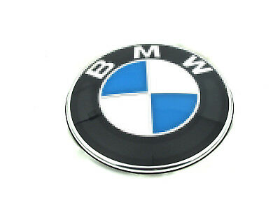 Car Emblem Chrome Front Badge Logo 82 MM For BMW Hood/Trunk/ hub cap x1
