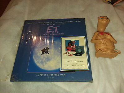 E.T. STORYBOOK ALBUM SPECIAL EDITION Michael Jackson & talking toy