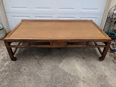 Antique Chinese Bed! Beautiful Wood Daybed! Dynastic furniture!