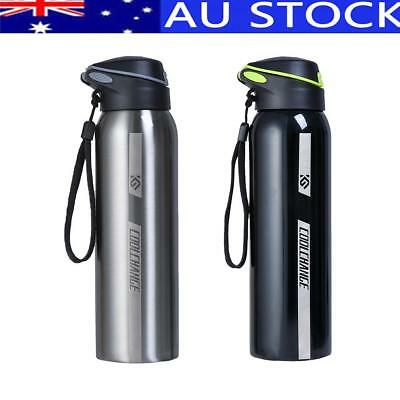 Vacuum Insulated Double Stainless Steel Water Bottle Thermos Drink Cup Mug 500ml