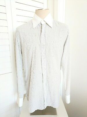 efc0c5f74562 GUCCI MEN'S BUTTON-DOWN Dress Shirt Made in Italy Size 43/17 ...