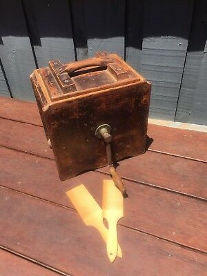 Antique wooden butter churn in good cond And Usable. Make Your Own Butter