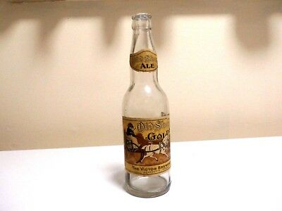 1934 OLD SHAY GOLDEN ALE CANADIAN STYLE BOTTLE-THE VICTOR BREWING COMPANY-L@@k!