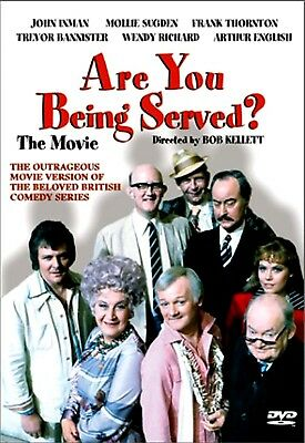NEW DVD - ARE YOU BEING SERVED ? THE MOVIE - Mollie Sugden, John Inman, Frank Th