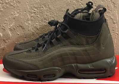 2685676c9d7b NIKE AIR MAX 95 Sneakerboot BLACK   BLACK 806809-002 sz 6 rare all ...