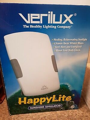 Verilux Happylite Deluxe HPLD SAD Light Sunshine Simulator Winter Therapy Light