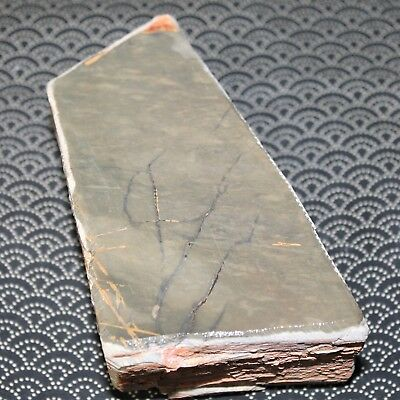 OLD Japanese Natural Whetstone Okudo Hon-Suita Lv4 75x180x65mm 1.31kg JAPAN a972