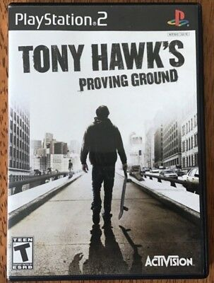 Sony Playstation 2 PS2 Tony Hawk's Proving Ground Video Game Complete Tested