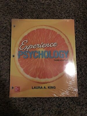 Experience Psychology by Laura A. King (2015, Ringbound)