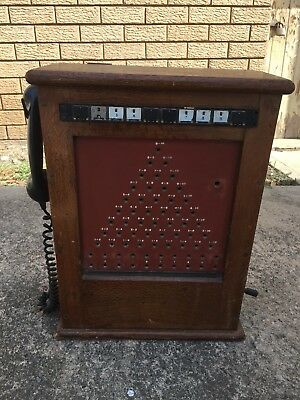 Antique vintage Telephone Switchboard