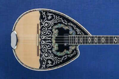 Solid Body SILENT BOUZOUKI PROII Cutaway Hand Made in Greece By Alexios Rotskos