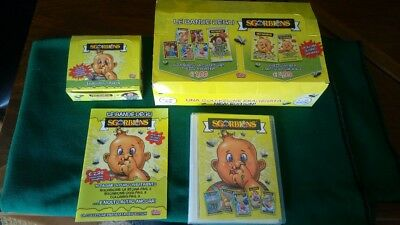 Sgorbions Gpk New Series Full Set 96 Cards 2 Box 24 Bustine Vuoti Empty Wrappers