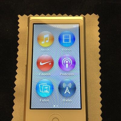 MP3 Player Apple iPod nano 7. Generation Silber 16 GB Gebraucht  TOP!!