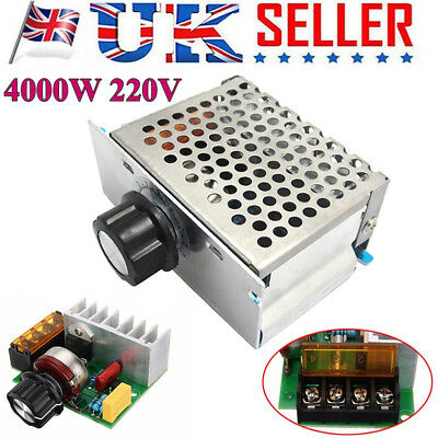 220V AC 4000W SCR Variable Voltage Regulator Motor Speed Control Controller DG