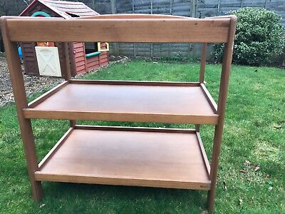 Baby Changing Table / Baby Changing Unit Station / Nappy Changer Bed - Wooden