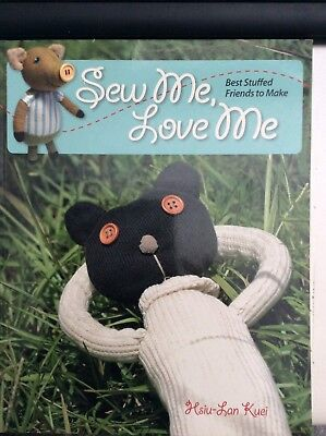 Sew Me Love Me Book by Hsui-Lan Kuei - Soft Toys