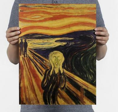"1970 Vintage MUNCH /""INGER MUNCH/"" COLOR offset Lithograph"