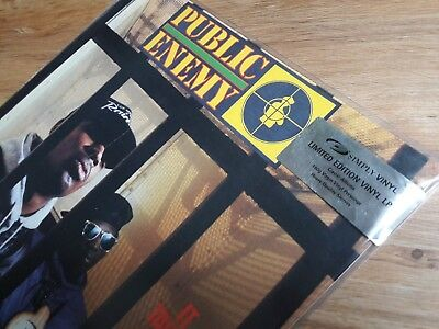 """Public Enemy * It Takes A Nation Of Millions To Hold Us Back * Lim. 12"""" 180g UK"""