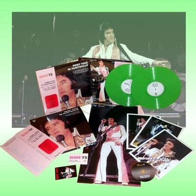 ELVIS PRESLEY - First Time In Huntsville Standard first 100 copies Sealed LP+CD
