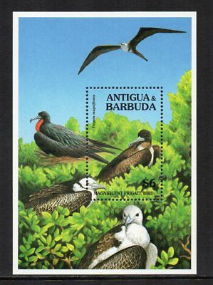 ANTIGUA & BARBUDA - 1994, $6 Frigate Bird, MNH Mini-Sheet